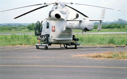 Mexican Navy MD902 with dual M260 Rocket Launchers